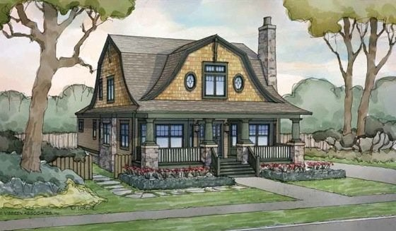 E Plans Dutch Colonial Revival House Style Bob Vila