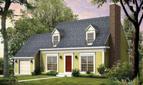 E Plans Cape Cod House Style Bob Vila