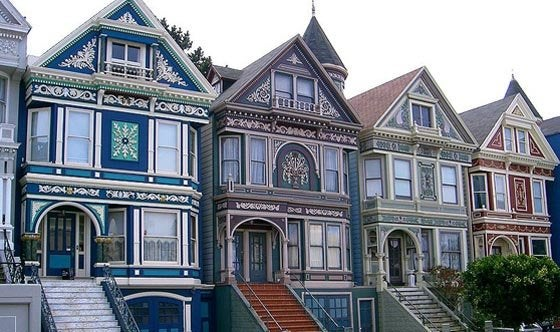 Wikimedia Painted Ladies Victorian Houses Historic Paint Color Bob Vila