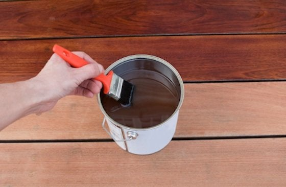 how to stain a deck bob vila. Black Bedroom Furniture Sets. Home Design Ideas