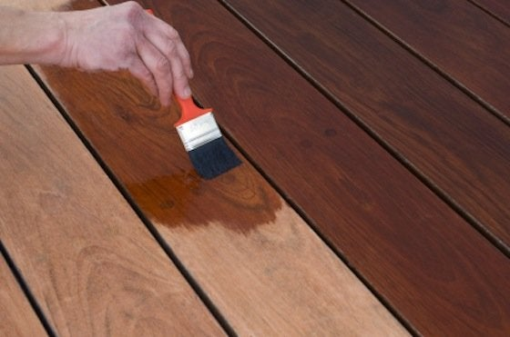 How to Stain a Deck - Step 3