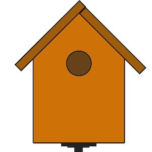C Gardner Basic Birdhouse Model How To