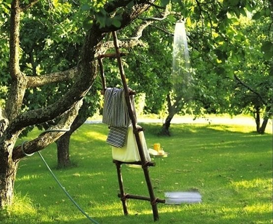 How to make an outdoor shower bob vila - How to make an outdoor shower ...