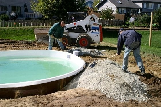 Fiberglass Poolsand Spas Pool Installation
