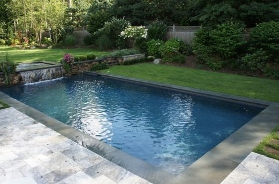 Swimming pools 101 bob vila for Concrete swimming pool