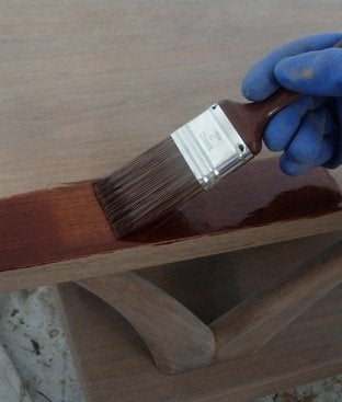 How to Refinish a Wood Table - Staining