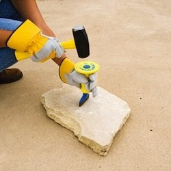 How to Install Landscape Edging - Mallet