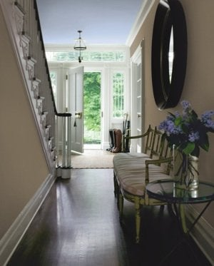 Choosing a Paint Color - Hall