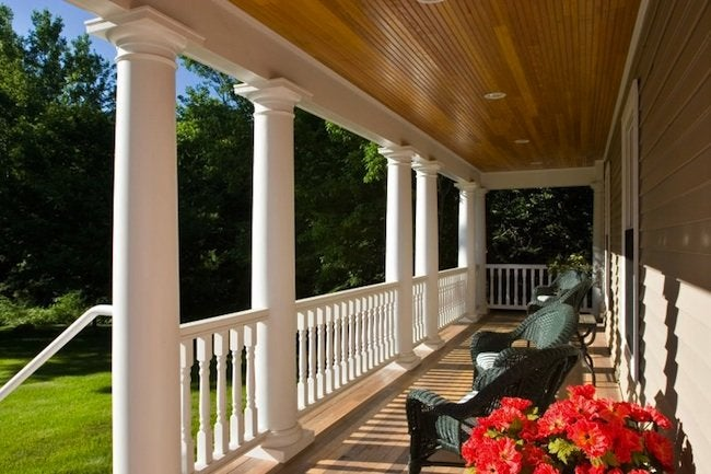 Front Porch Designs - Colonial