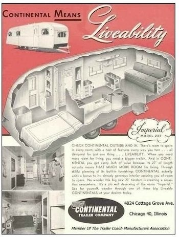 Mobile Home Design - Continental Trailer