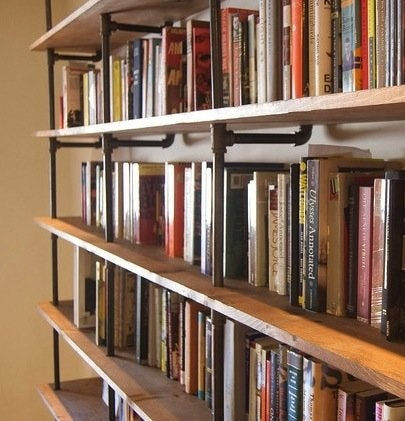 October Home Projects - DIY Bookshelf
