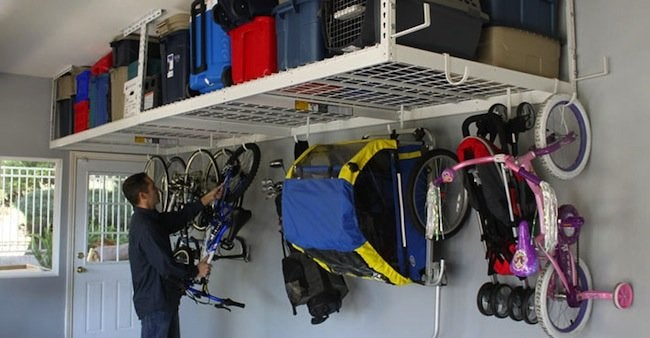 Garage Makeover Ideas - Storage Racks