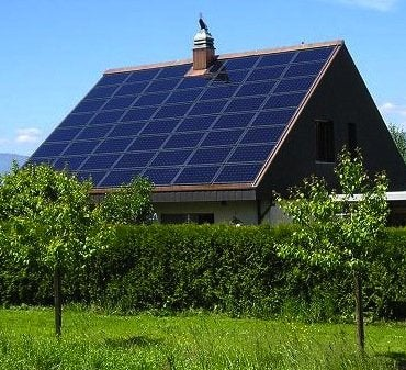 Zero Energy Homes - Solarpanels