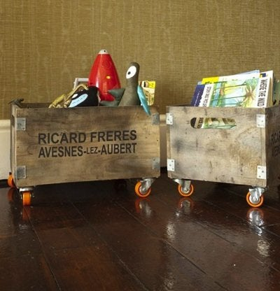 Kids Room Ideas - Storage Crates