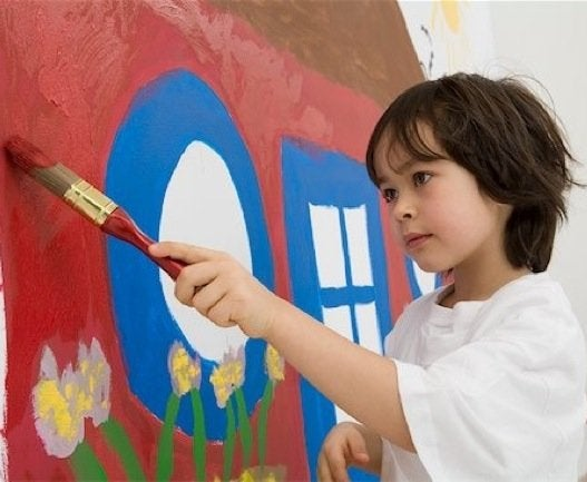 kids room ideas painted walls - Kids Painting Images
