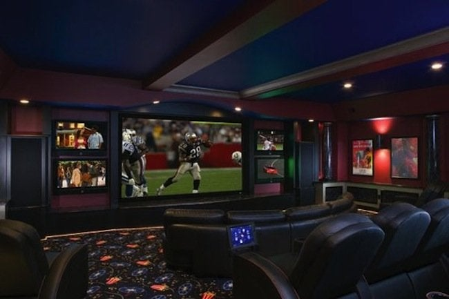 home theater ideas cinema. Interior Design Ideas. Home Design Ideas