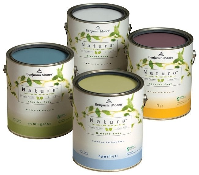 Green Tips for the Home - No VOC Paint