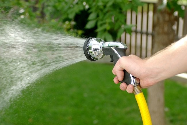 Green Tips for the Home - Water Saving Nozzle