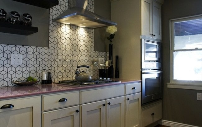 Geometric Backsplash