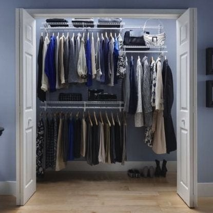 How To Organize Your Closet   Wire Shelving