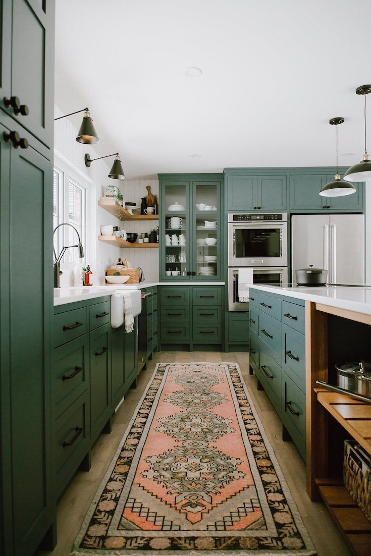Farmhouse green jaclyn peters design