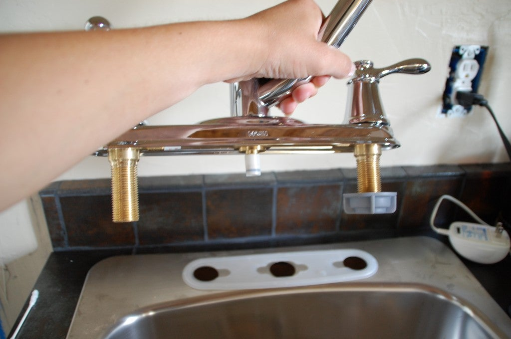 How to Install a Faucet - New