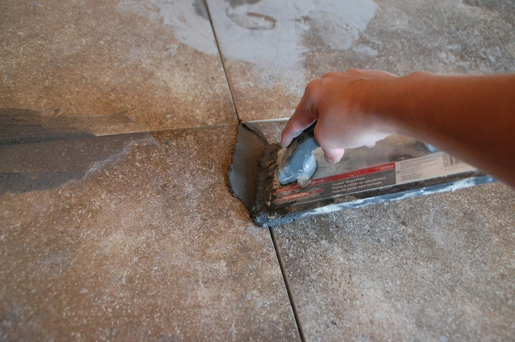 How to Grout Tile - Float