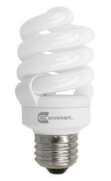 EcoSmart CFL 14-Watt Light Bulb Home Depot