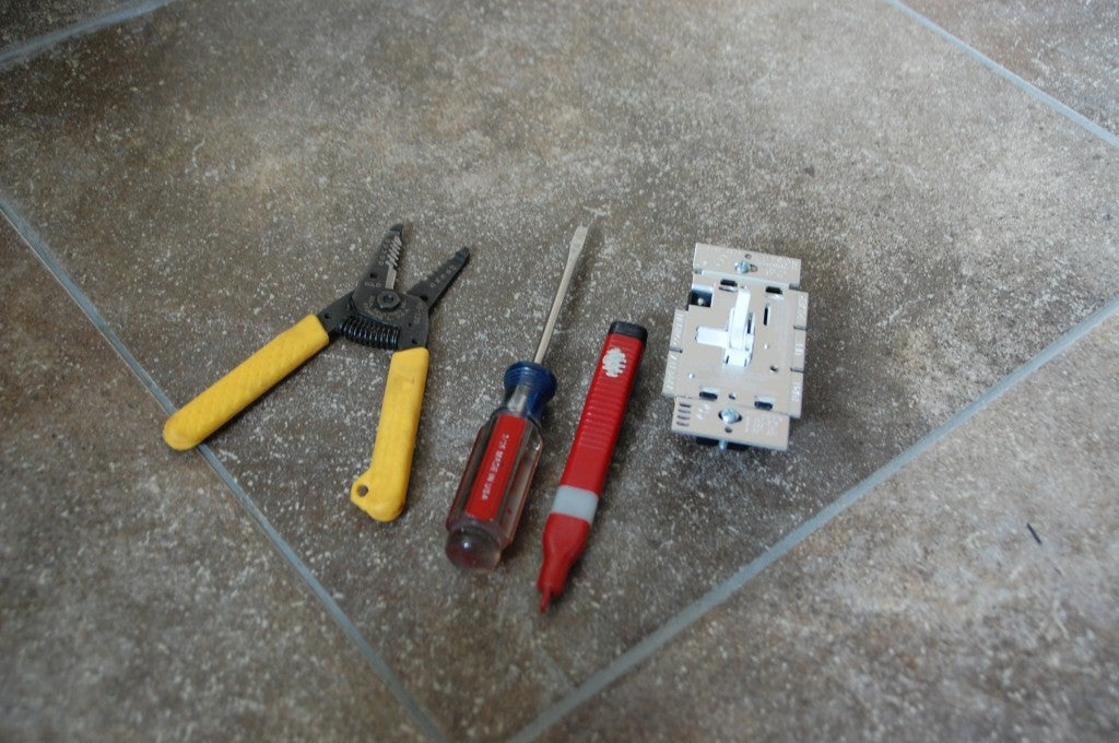 How to Install a Dimmer Switch - Tools and Materials