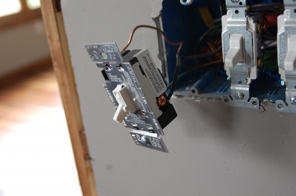 How to Install a Dimmer Switch - Putting It Together