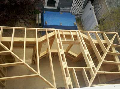 The hip roof, complete