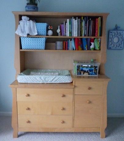 JProvenz Dresser and Changing Table Bob Vila Green Nursery