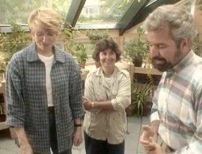 Martha Stewart Diana Barrett Bob Vila Tour the Completed Greenhouse