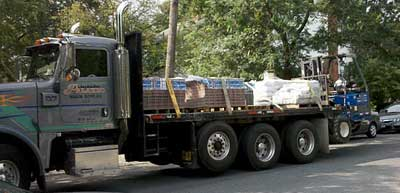 Paver Patio - Delivery