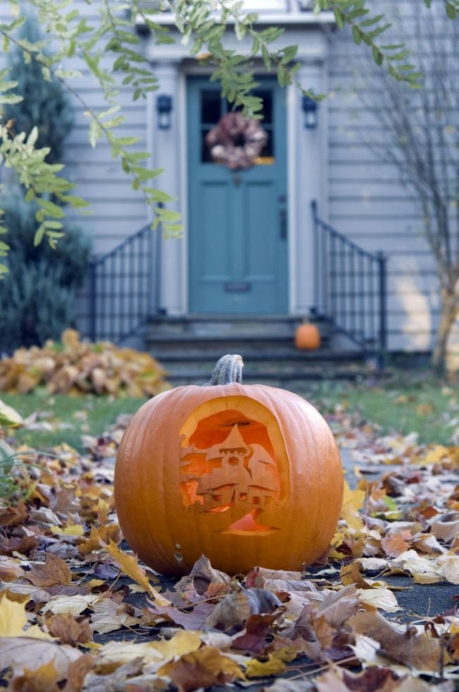 How to Preserve a Carved Pumpkin with Bleach and Petroleum Jelly