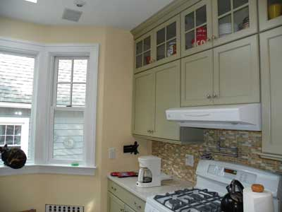 The painted kitchen