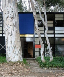 Flickr-Dystopoe Eames House Exterior