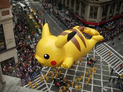 LABworks360 Macy's Day Parade Pikachu Balloon