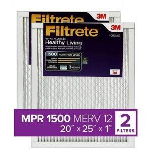 The Best Furnace Filter Option: Filtrete AC Furnace Air Filter, MPR 1500