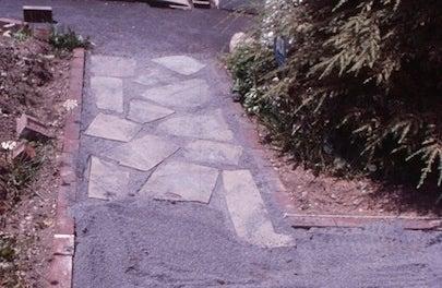 How to Build a Slate Walkway - Path