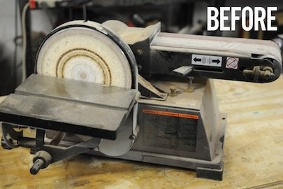 How to Clean Power Tools - Sander
