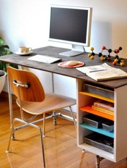 Galvanized Pipe Desk