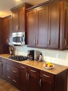 Choosing Kitchen Cabinets - Single Panel Doors