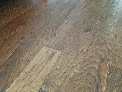 Selecting Wood Flooring - Hand Scraped