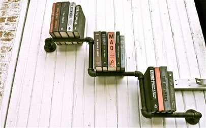 Pipe Fitting Projects - Pipe Book Shelf