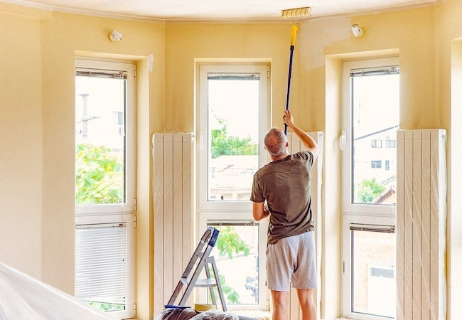 How To Paint A Ceiling Bob Vila