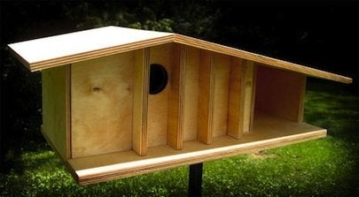 Make a Birdhouse - Midcentury Modern
