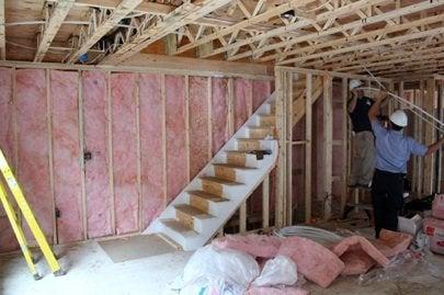 Habitat Builder Blitz, Newburgh,  NY interior day 2