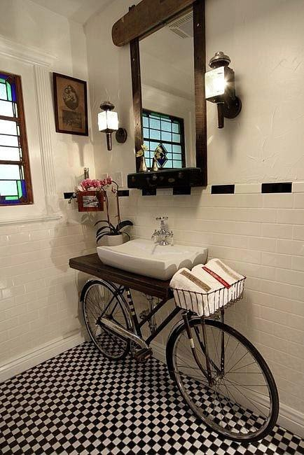 DIY Old Bicycles - Vanity