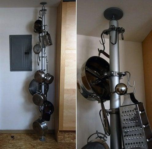 Upcycled Pot Racks